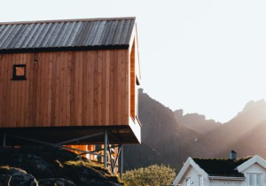 Hattvika Hillside cabins in the Lofoten islands