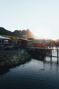 This is Hattvika Lodge