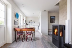 Accommodation rental in fisherman cottages at Ballstad