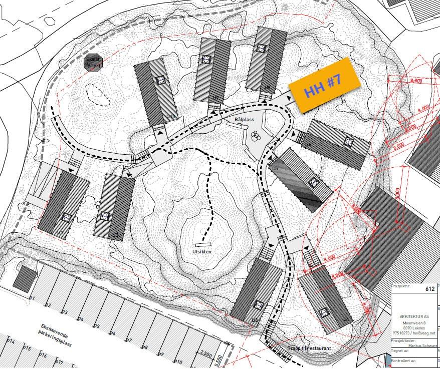 Map Hattvika Hillside