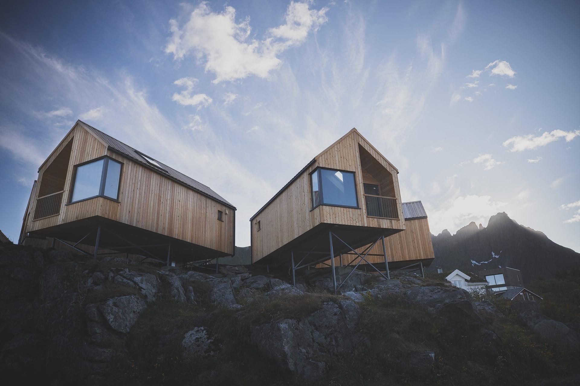 Accommodation rental in Hattvika HILLSIDE at Ballstad