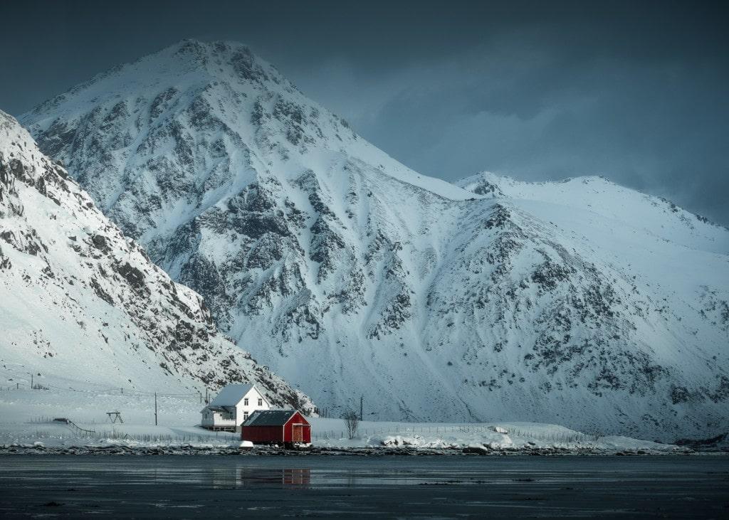 Fisherboat in the Lofoten islands