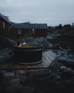 Hot Tub i Hattvika